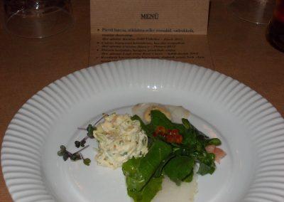 Francia vacsora az Atakámban