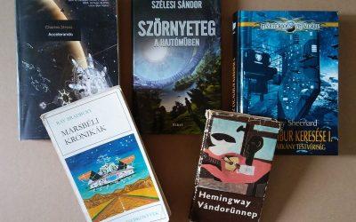 Nyolc könyv – három interjú